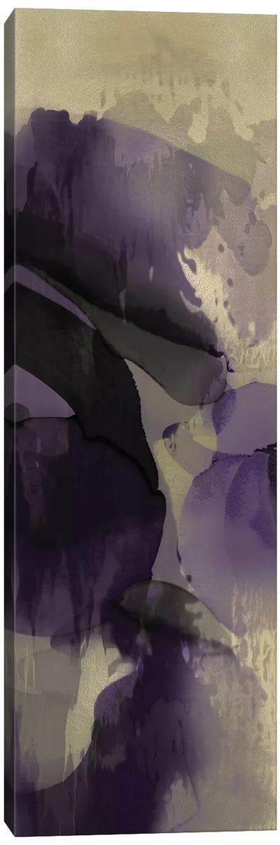 Cascade Amethyst Vertical III Canvas Art Print
