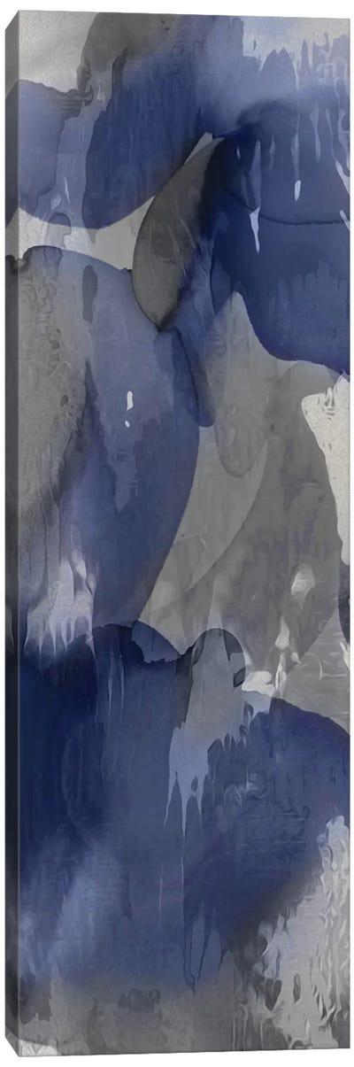 Cascade Indigo I Canvas Art Print