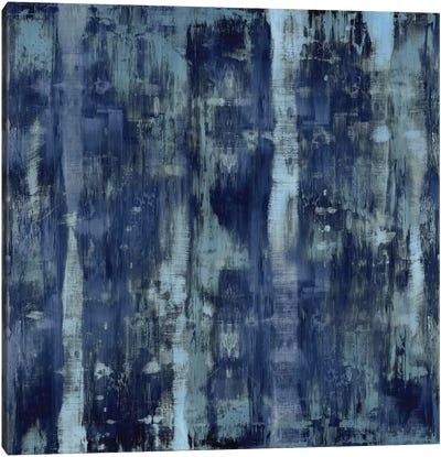 Variations In Blue Canvas Art Print
