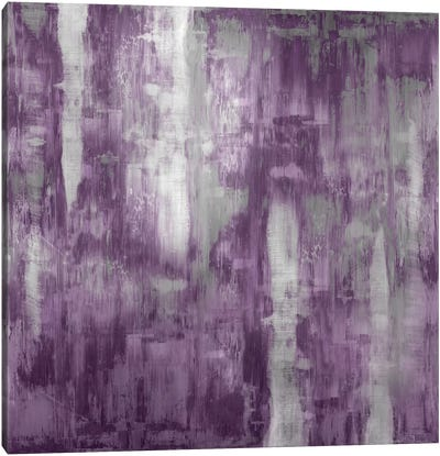 Amethyst Gradation Canvas Art Print