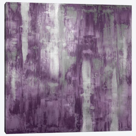 Amethyst Gradation Canvas Print #JTU2} by Justin Turner Canvas Print