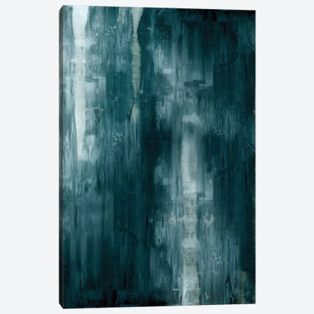 Cerulean Gradation  3-Piece Canvas #JTU3} by Justin Turner Canvas Art Print