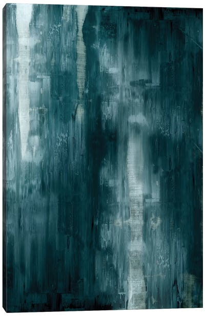 Cerulean Gradation  Canvas Art Print