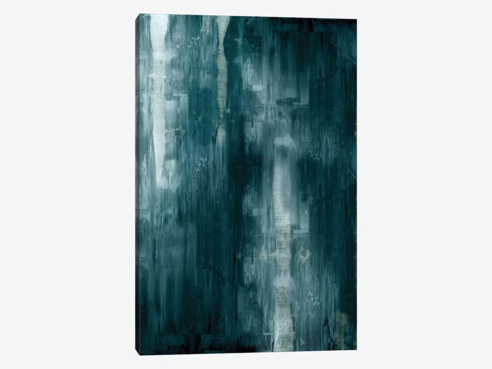 Cerulean Gradation  by Justin Turner 1-piece Canvas Wall Art