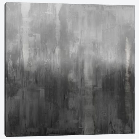 Gradation In Grey 3-Piece Canvas #JTU4} by Justin Turner Canvas Art