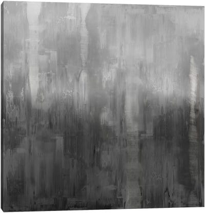 Gradation In Grey Canvas Art Print
