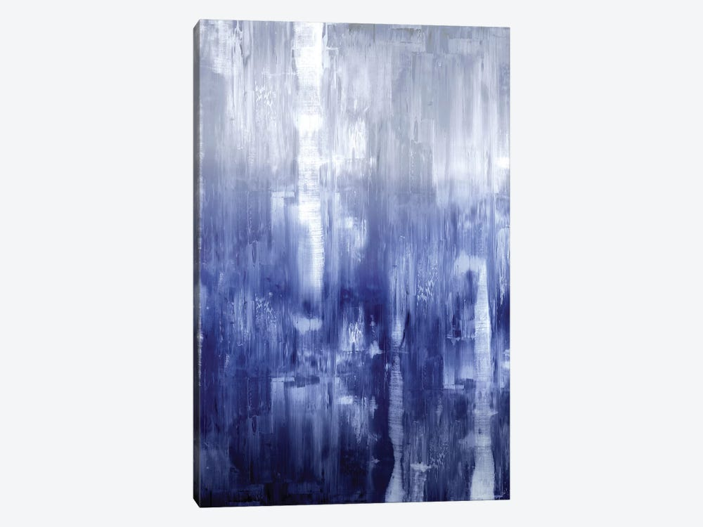 Indigo Gradation 1-piece Canvas Wall Art