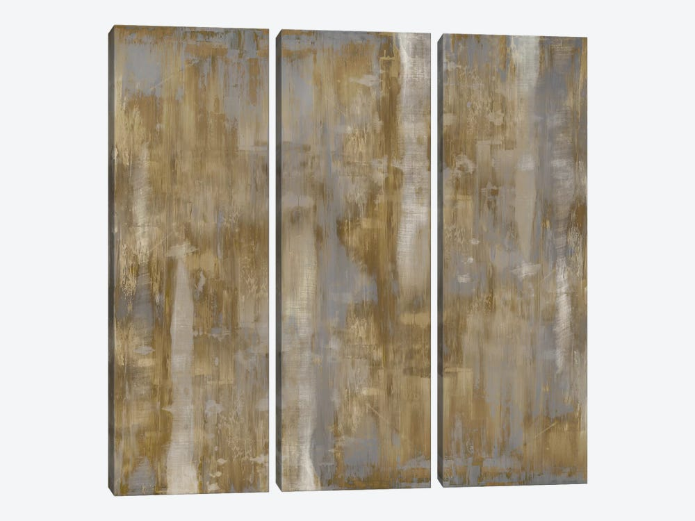 Subtle Variations by Justin Turner 3-piece Canvas Print