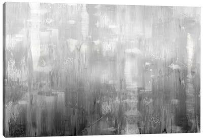 Textural In Grey Canvas Art Print