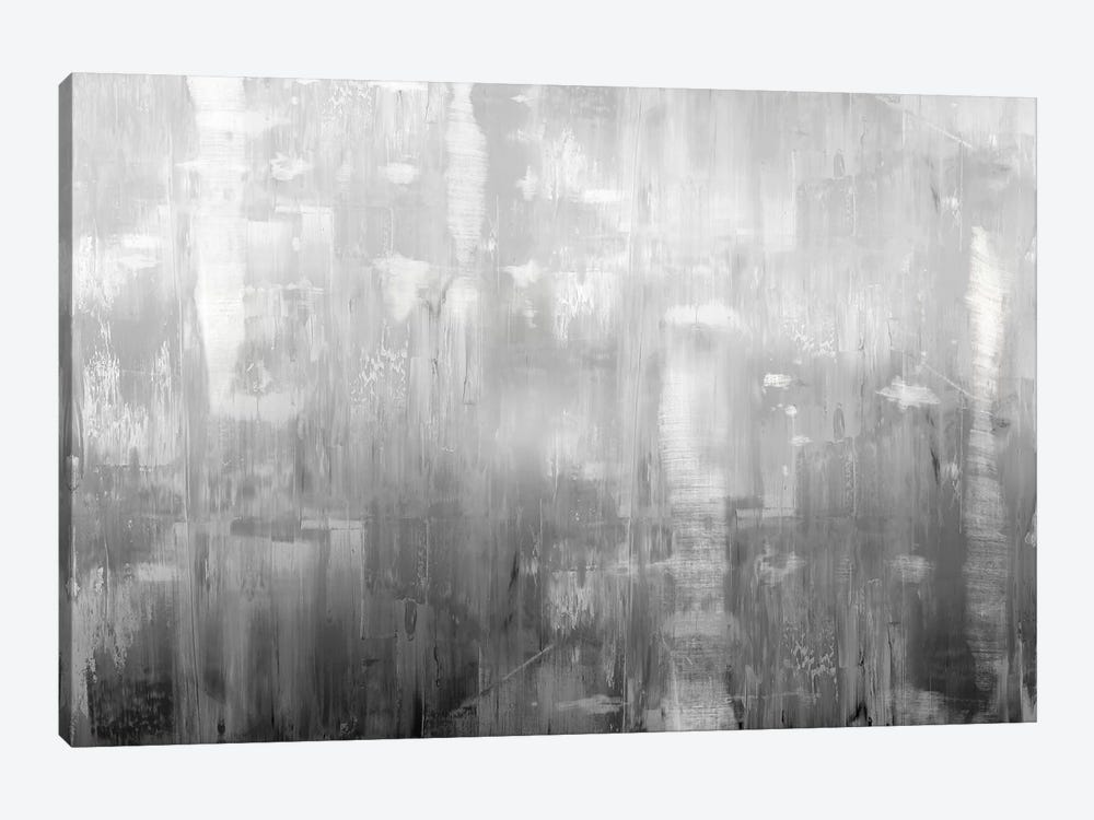 Textural In Grey by Justin Turner 1-piece Canvas Print