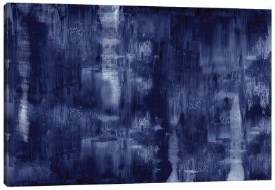 Textural In Indigo  Canvas Art Print