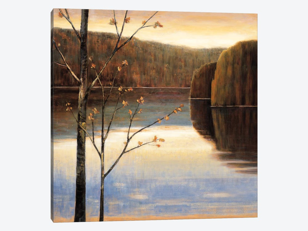 Lakeside I 1-piece Canvas Wall Art