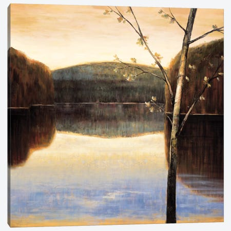 Lakeside II Canvas Print #JUA3} by Justin Adams Canvas Art Print