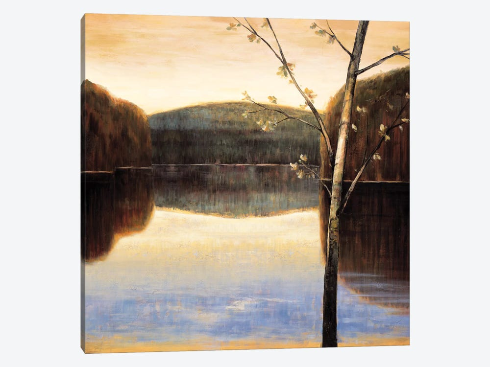 Lakeside II by Justin Adams 1-piece Canvas Art Print