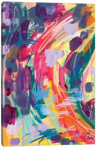 Seeking The Small Treats Canvas Art Print
