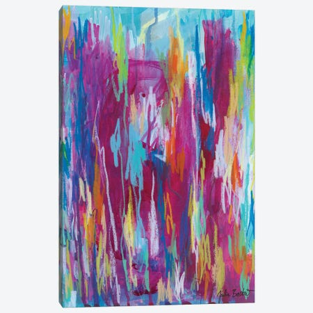You Make Me Want To Be The Best Version Of Myself Canvas Print #JUB132} by Julia Badow Canvas Wall Art