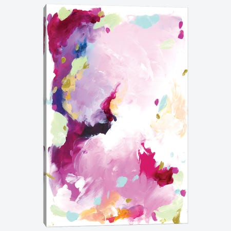 Leia Canvas Print #JUB13} by Julia Badow Canvas Wall Art