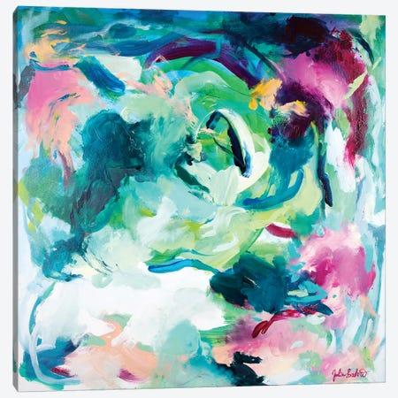 Mermaid Lagoon Canvas Print #JUB15} by Julia Badow Canvas Art Print