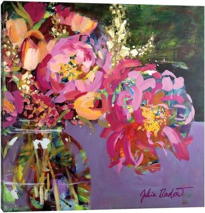 Abundant Beauty In A Jar Canvas Art Print