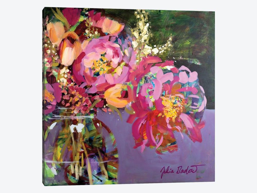 Abundant Beauty In A Jar by Julia Badow 1-piece Canvas Art