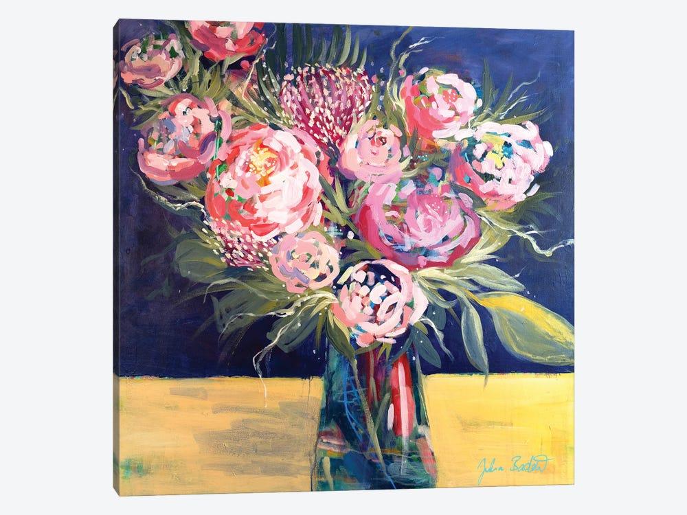 Royal Blooms by Julia Badow 1-piece Art Print