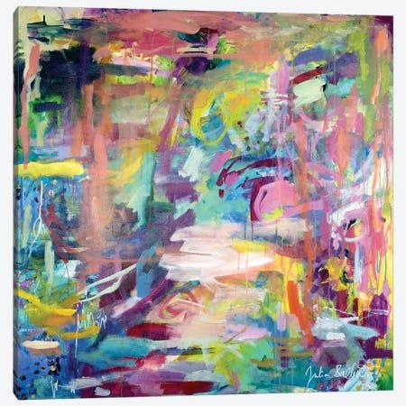 Chaos Within A Star Canvas Print #JUB203} by Julia Badow Canvas Artwork