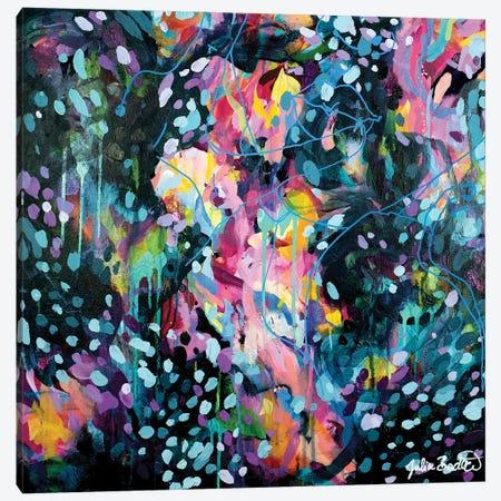 Dance Like Nobody Is Watching Canvas Print #JUB209} by Julia Badow Canvas Wall Art
