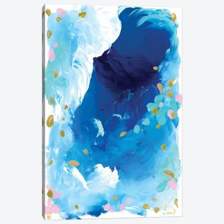 Ocean 3-Piece Canvas #JUB20} by Julia Badow Canvas Print