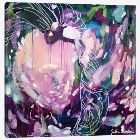 Fearless Canvas Print #JUB210} by Julia Badow Art Print