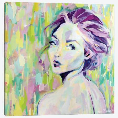 Her Canvas Print #JUB211} by Julia Badow Canvas Print