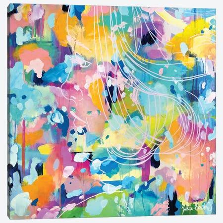 Me Time Canvas Print #JUB214} by Julia Badow Canvas Wall Art