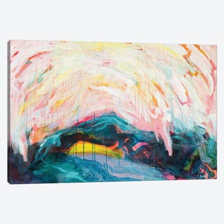 Rising Canvas Print #JUB236} by Julia Badow Canvas Artwork