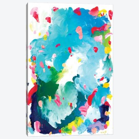 Ponyo Canvas Print #JUB23} by Julia Badow Art Print