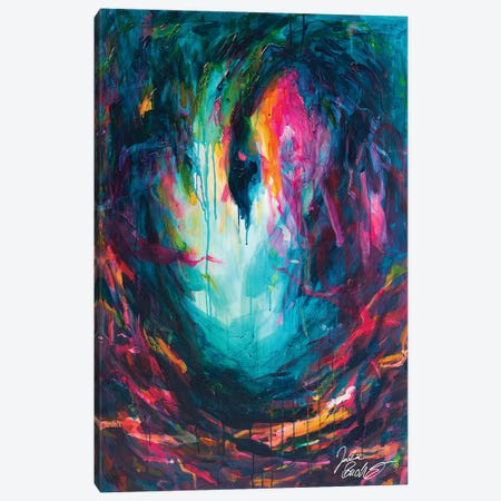 Cygnus Canvas Print #JUB241} by Julia Badow Canvas Artwork