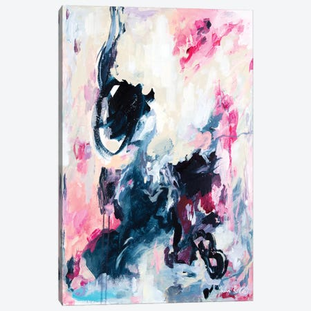 Restless Dancing Canvas Print #JUB25} by Julia Badow Canvas Art