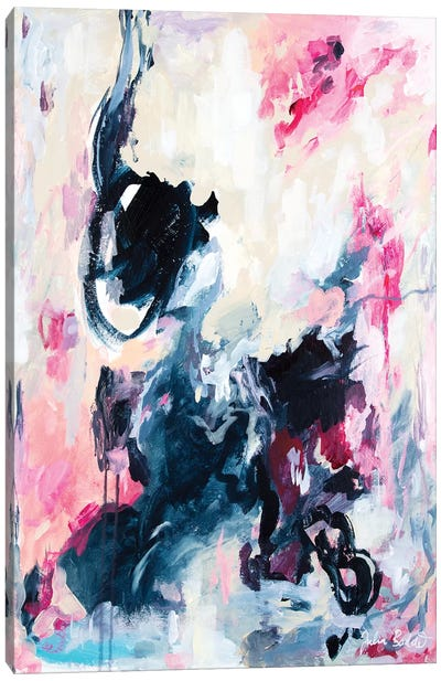 Restless Dancing Canvas Art Print