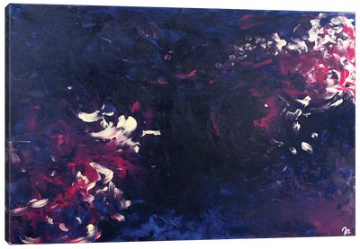 Scarlet Heart Canvas Art Print