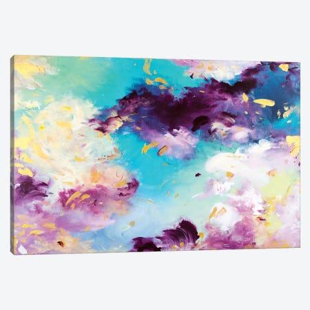 Send Flowers Over The Sea Canvas Print #JUB27} by Julia Badow Canvas Wall Art