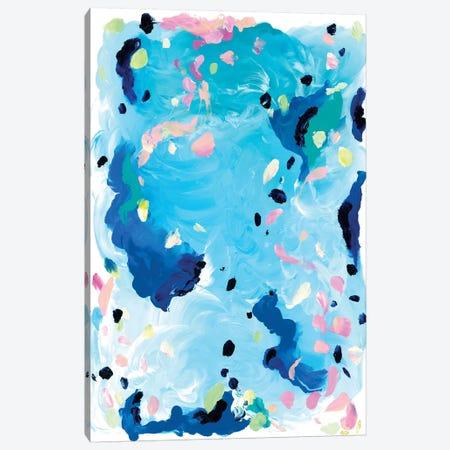 Tide Canvas Print #JUB31} by Julia Badow Canvas Wall Art