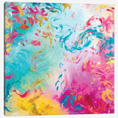 Unlock Everything Canvas Print #JUB33} by Julia Badow Canvas Wall Art