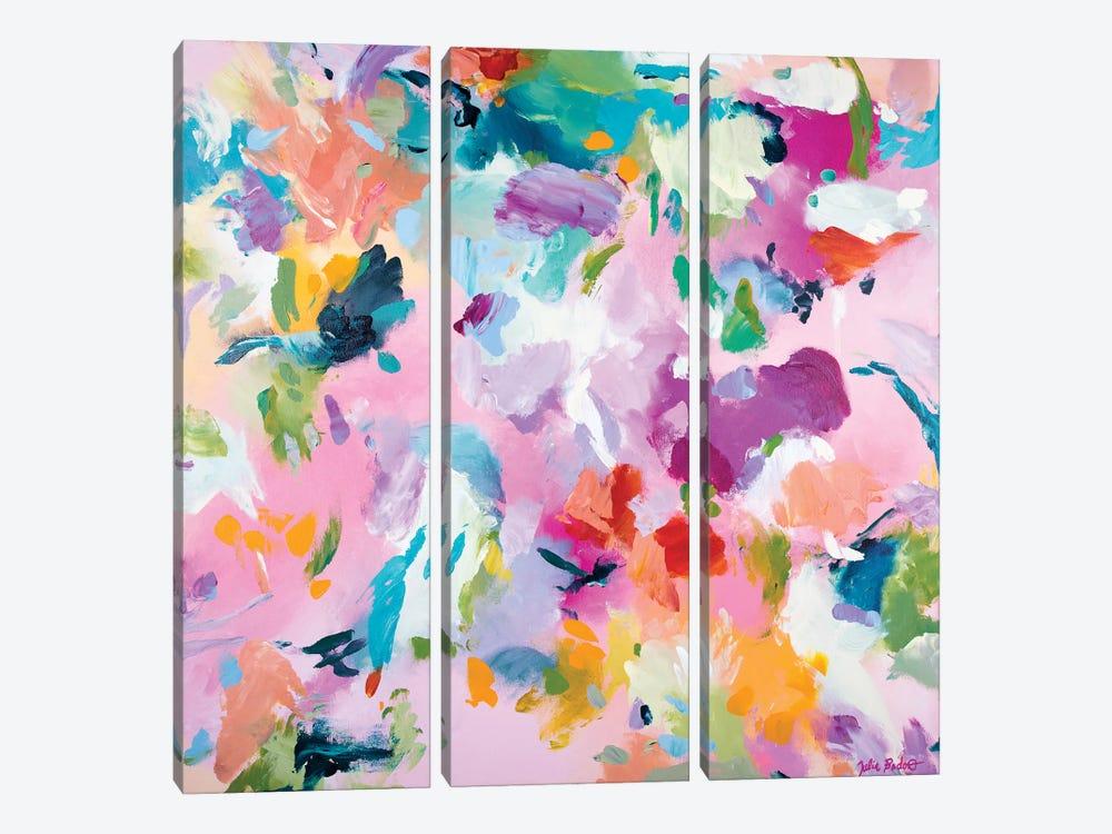 Wild Garden by Julia Badow 3-piece Canvas Art Print