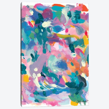 As Expected Canvas Print #JUB39} by Julia Badow Canvas Art