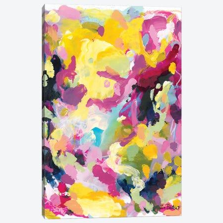 Collective Falling 3-Piece Canvas #JUB43} by Julia Badow Canvas Print
