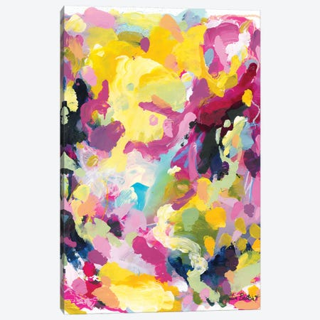 Collective Falling Canvas Print #JUB43} by Julia Badow Canvas Print