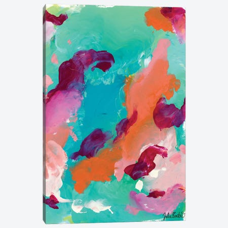 Go Getter Canvas Print #JUB50} by Julia Badow Canvas Artwork