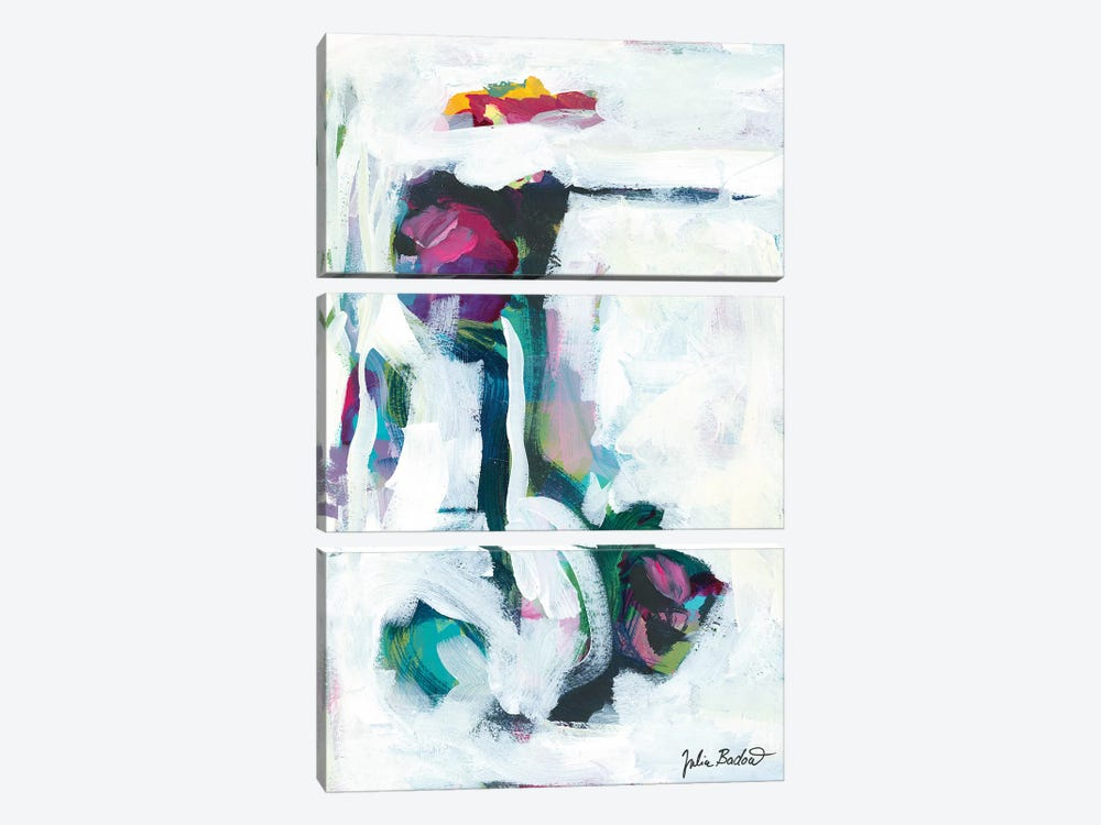 Growing Pains by Julia Badow 3-piece Canvas Artwork