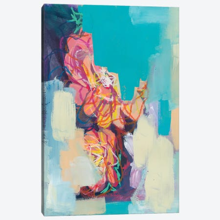 Look Expensive Canvas Print #JUB61} by Julia Badow Canvas Print