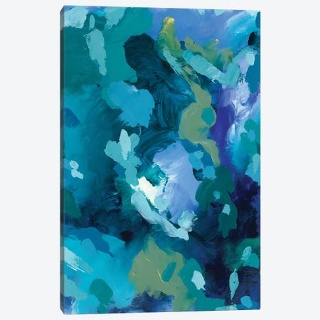 Looking On The Bright Side Canvas Print #JUB62} by Julia Badow Art Print