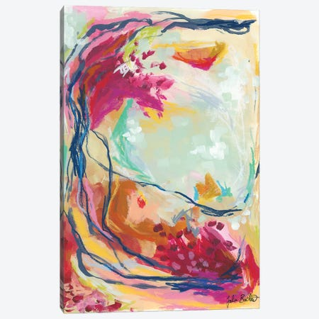 On My Way Canvas Print #JUB67} by Julia Badow Canvas Wall Art