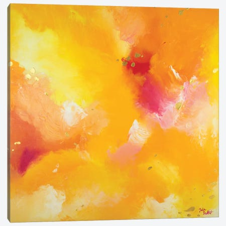 Endless Summer Canvas Print #JUB7} by Julia Badow Art Print